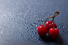 Fresh sweet cherries Royalty Free Stock Photography