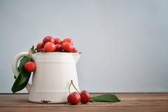 Fresh sweet cherries Stock Images