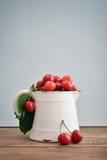 Fresh sweet cherries Royalty Free Stock Images