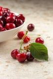 Fresh Sweet Cherries Stock Photo