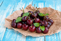 Fresh sweet cherry Stock Image