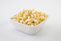 Fresh Sweet corn in a bowl Royalty Free Stock Images