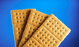 Fresh sweet crackers Stock Images