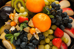 Fresh sweet fruits and berrys Stock Photo