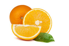 Fresh sweet juicy oranges Royalty Free Stock Photo