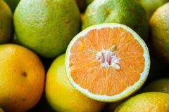 Fresh sweet lime. In vegetable market stock images