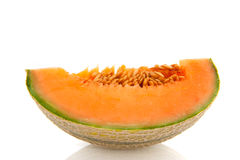 Fresh sweet melon Royalty Free Stock Images