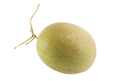 Fresh and sweet Melon isolated Royalty Free Stock Photo