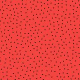 Fresh Sweet Natural Ripe Watermelon Seamless Pattern. With Black Seeds Royalty Free Stock Photos