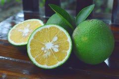 Fresh sweet orange. Stock Photo