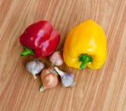 Fresh sweet  paprika. Stock Photo