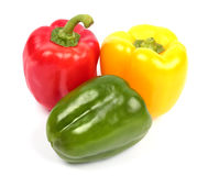 Fresh  sweet peppers Stock Image