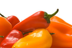 Fresh Sweet Peppers Royalty Free Stock Photography