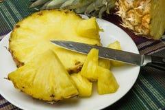 Fresh sweet pineapple Stock Photo