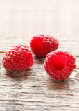 Fresh and sweet raspberries background. Selective focus.  Stock Image