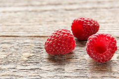 Fresh and sweet raspberries background. Selective focus.  Royalty Free Stock Image