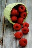 Fresh Sweet Raspberries Royalty Free Stock Photo