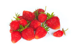 The fresh sweet red strawberry Stock Photography