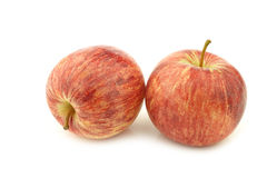 Fresh sweet small apples Royalty Free Stock Photos