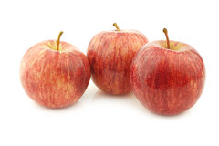 Fresh sweet small apples Royalty Free Stock Photo