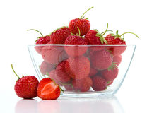 Fresh sweet strawberry Stock Images