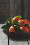 Fresh sweet tangerine Royalty Free Stock Photo