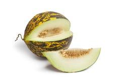 Fresh sweet Turkish melon Royalty Free Stock Photos