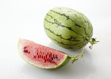 Fresh sweet watermelon Stock Photos