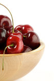 Fresh Swet Cherry Clipping Path Stock Images