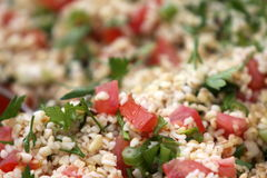 Fresh Tabbouleh Royalty Free Stock Images