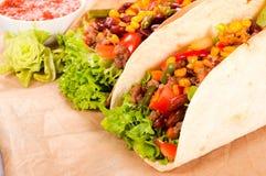 Fresh tacos Royalty Free Stock Photography