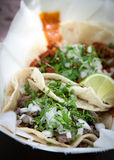 Fresh Tacos Stock Images