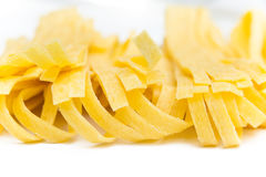 Fresh Tagliatelle Royalty Free Stock Image