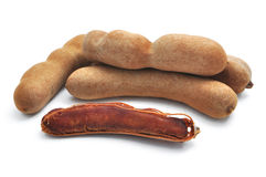 Fresh Tamarind Stock Photo