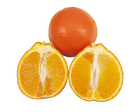 Fresh tangelo minneola fruits Stock Photo