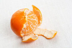 Fresh tangerine Royalty Free Stock Photo