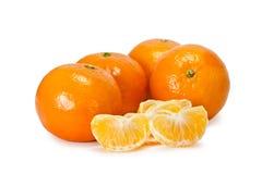 Fresh tangerines Stock Image