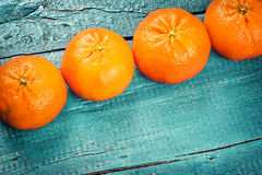Fresh tangerines. Healthy food and diet concept Royalty Free Stock Images