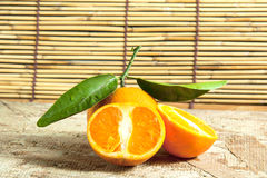 Fresh Tangerines Stock Photos
