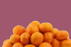 Fresh tangerines Royalty Free Stock Photos