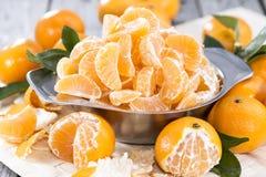 Fresh Tangerines Royalty Free Stock Photo