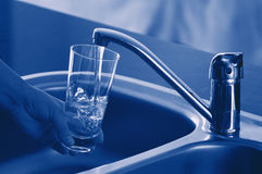 Fresh Tap Water Stock Photography