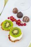Fresh tarts Stock Image