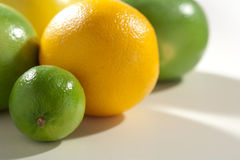 Fresh taste citrus fruits Royalty Free Stock Photos