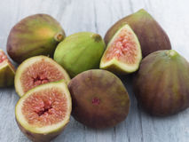 Fresh and tasteful figs Stock Photo