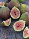 Fresh and tasteful figs Royalty Free Stock Photos