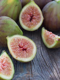 Fresh and tasteful figs Royalty Free Stock Image