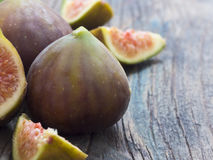 Fresh and tasteful figs Royalty Free Stock Photography