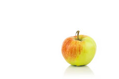 Fresh Tasty Apple  On White Stock Photo