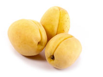 Fresh tasty apricots still-life. Royalty Free Stock Images